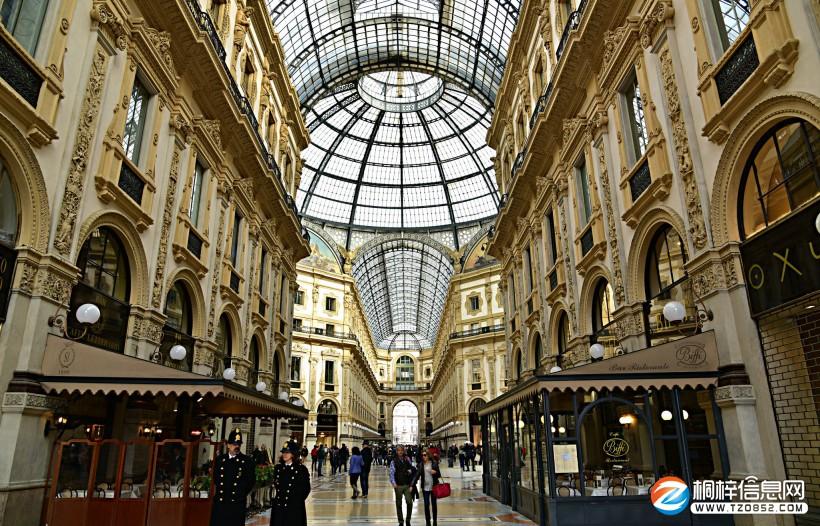 意大利米兰风景图片